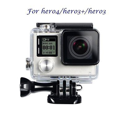 Waterproof Diving Housing Case Cover for GoPro Hero 3 3+ Hero 4 Accessory