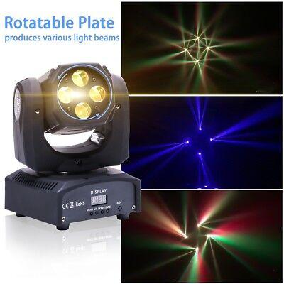 80W LED RGBW Stage lighting Washing Effect Moving Head beam Disco DJ Lights