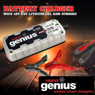 G7200 Smart Battery Charger Series 2 GENIUS Noco 12V 24 LITHIUM G