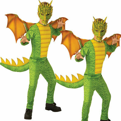 Jungen Drachen Kostüm Dinosaurier Märchen Kinder Jungen Mädchen - Jungen Märchen Kostüme