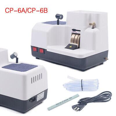 110v Optical Hand Edger Manual Lens Polishing Grinder Three Wheels Dc Ac Motor