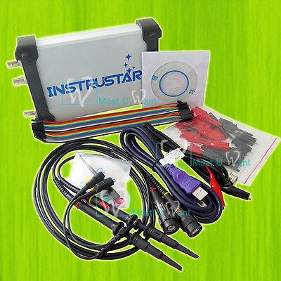 5in1 Digital Pc Oscilloscope 2ch Spectrum Analyzer Data Multimeter Analyzer Dds
