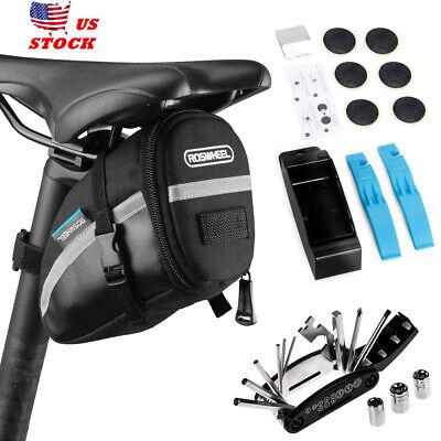 Lixada Bike Repair Tool Kit Portable 16-In-1 Bicycle Saddle