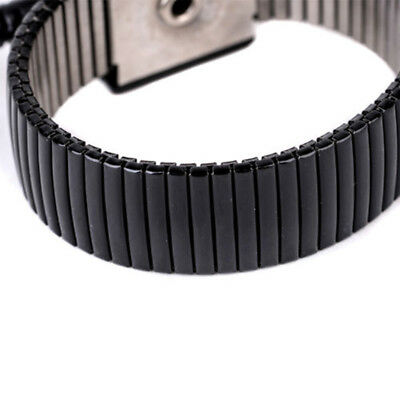 Anti-static Esd Adjustable Strap Grounding Bracelet Black Wrist Band Nt5x