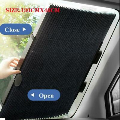 1PC Car Retractable Curtain UV Protection Front Windshield Sun Visor Accessories