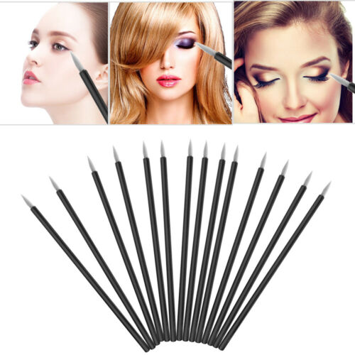 Disposable Nylon Eyeliner Brushes Applicator Lip Liner Brushes Fine Tip Makeup Eyeliner