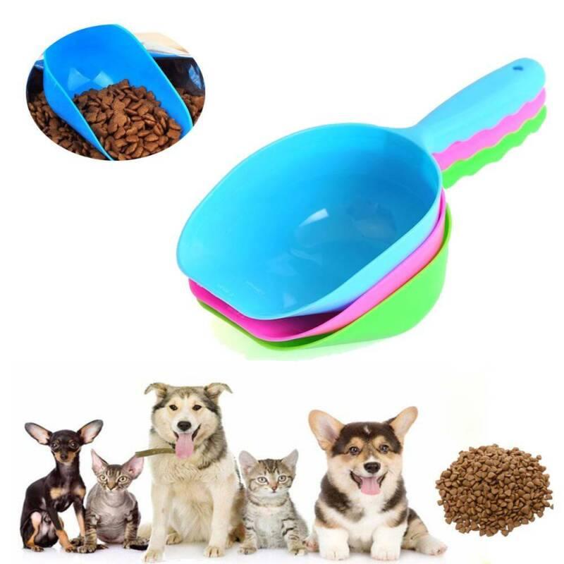 Plastic Pet Food Shovel Puppy Small Spoon Cat Dog Food Scoop