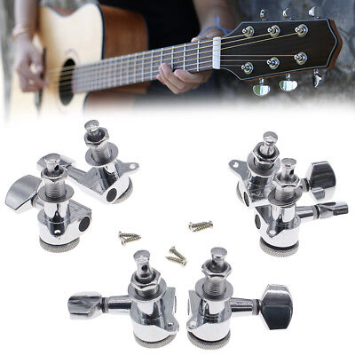 3L+3R Best Guitar Locking Tuners Tuning Pegs Machine Heads For Electric