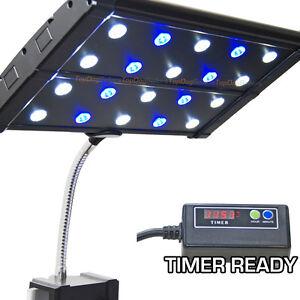 evo quad clip 3w timer ready led aquarium light nano. Black Bedroom Furniture Sets. Home Design Ideas