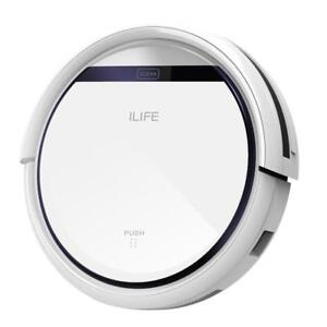 ILIFE V3s Robotic Vacuum Cleaner for Pets and Allergies Home, Pearl White