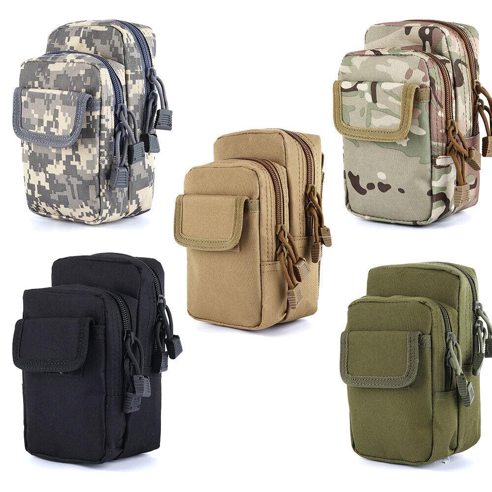 Men Outdoor Tactical Belt Bag Shoulder Waist Bag Military Mobile Phone Pouch US Bags
