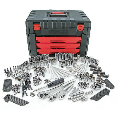 Craftsman 270 pc Mechanics Tool Set with 3-Drawer Trunk