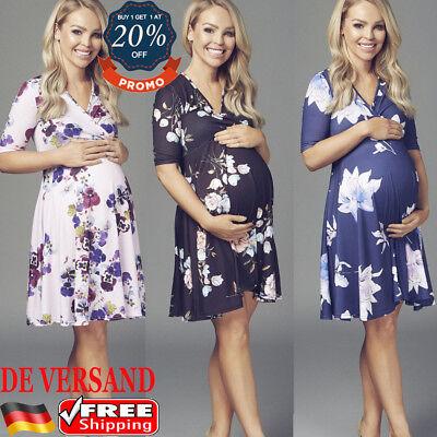 Umstandsmode Umstandskleid Mutterschaft Kostüme Stillkleid Schwangerschaftkleid