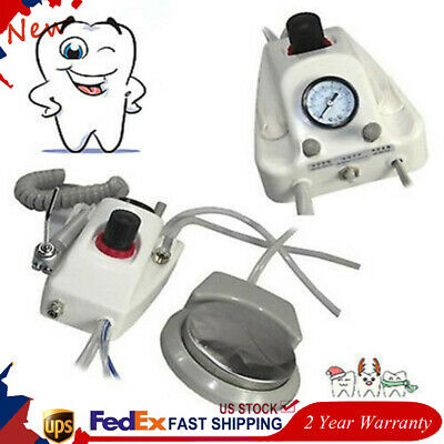 Dental Portable Air Turbine Unit For Compressor Water Bottle Foot Switch 2holes