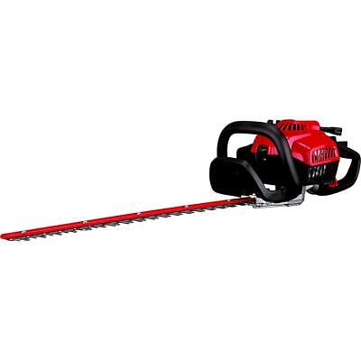 "Craftsman 22"" Gas Hedge Trimmer 28CC engine DUAL ACTION STAINLESS STEEL BLADE"