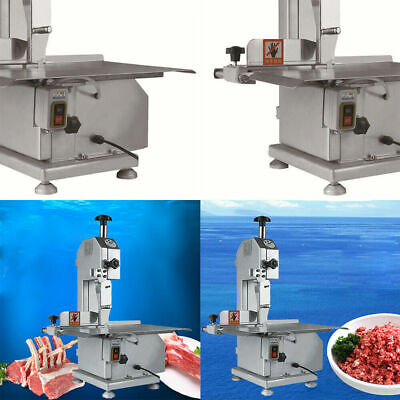 650w Commercial Food Processing Electric Meat Bone Bandsaw Cutting 4-180mm 15ms
