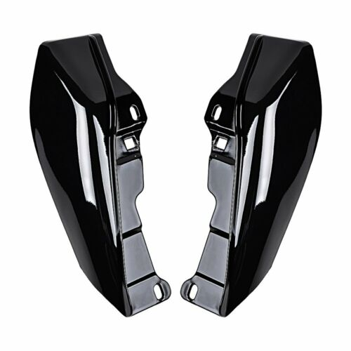 Black Mid-Frame Air Deflector Trim For Harley Touring Street Glide FLHX 09-16 zs