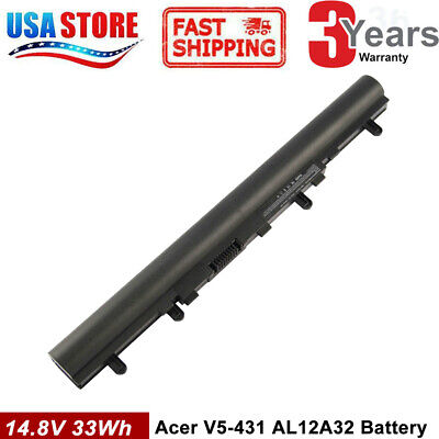 AL12A32 Battery for Acer Aspire V5 V5-431 V5-471 V5-531 V5-551 V5-571 E1-572