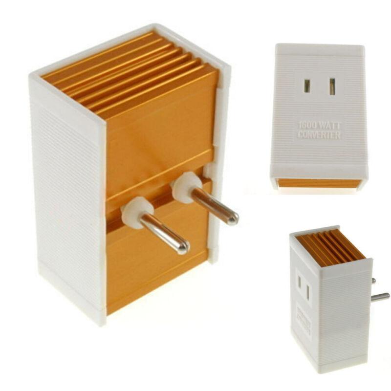 Foreign Travel Converter 1600 W Watt AV Voltage Step Down Power Adapater 220 110