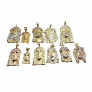 tete de jesus en or 10 karat / Jesus Head in gold 10 karat Italien