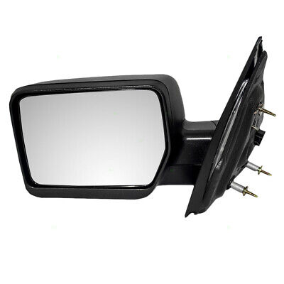 Drivers Power Side Mirror Pedestal Type Textured for 04-08 Ford F-150 Pickup