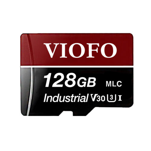 VIOFO 128GB Professional High Speed MLC MicroSDXC UHS-3 Memory Card with Adapter