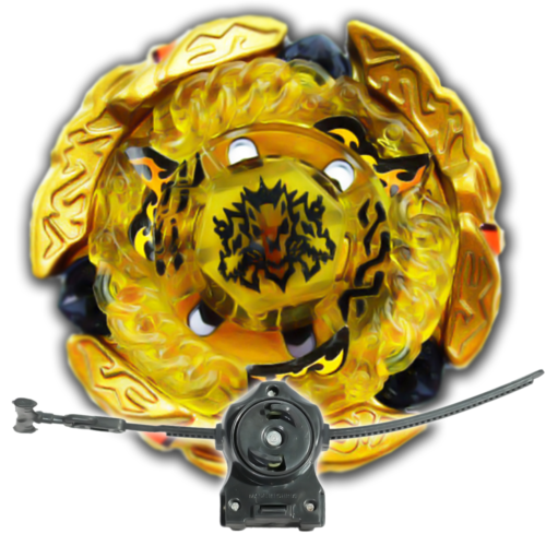 Beyblade Hades Hell Kerbecs Metal Fusion BB-99 With LL2 Launcher and Rip Cord