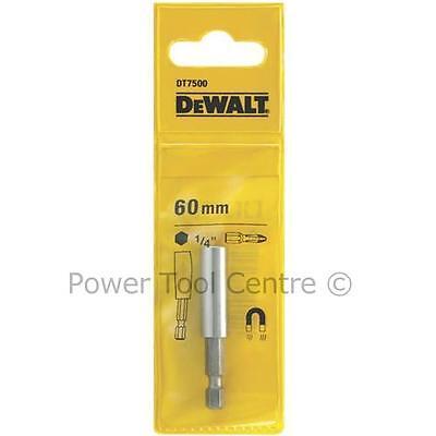 "DeWalt DT7500 60mm 1/4"" Magnetic Drill Screwdriver Bit Holder Fits Makita Bosch"