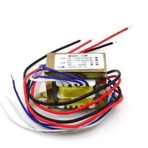 10W Tube Preamp EI Transformer MINI transformer 2*110V to 0-6V 1A 0-200V 2mA