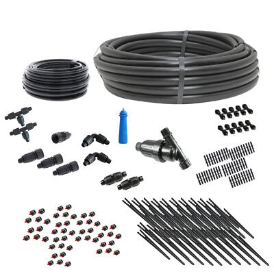 Premium Gravity Feed Drip Irrigation Kit for Clean Water