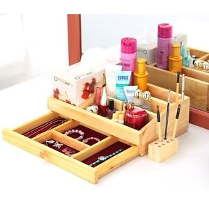 Made in Korea Pine Solid Wood Drawer Tissue Type Cosmetic ...