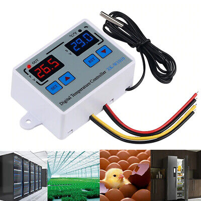 Digital Thermostat Cf Temperature Controller For Incubator Relay Led 10a I6z4