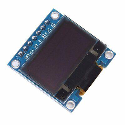 White 3-5v 0.96 Spi Serial 128x64 Oled Lcd Led Display Module For Arduino