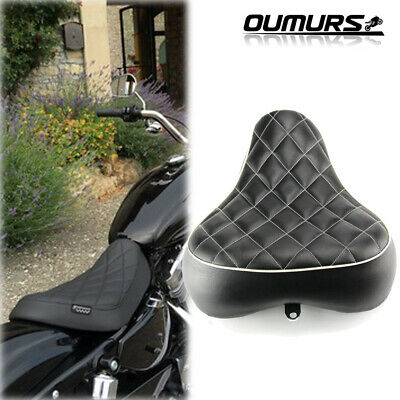 Driver Rider Solo Seat For Harley Sportster 883 1200 72 48 1983-2003 Motorcycle Front Rider Seat