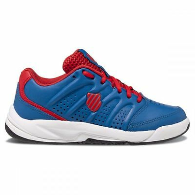 K-Swiss Ultrascendor Omni Kinder Junior Sand Tennisschuh blau NEU UVP 44,95€