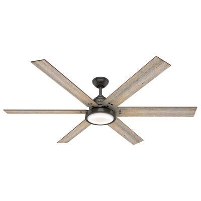 Hunter Fan Company Warrant 70-inch Ceiling Fan with LED