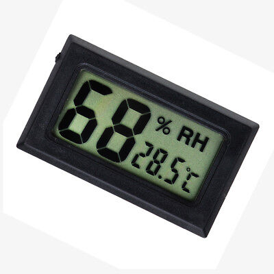 Digital Indoor Temperature Humidity Gauge - Pet Reptile Thermometer Hygrometer