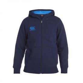 Canterbury navy zipped hoody