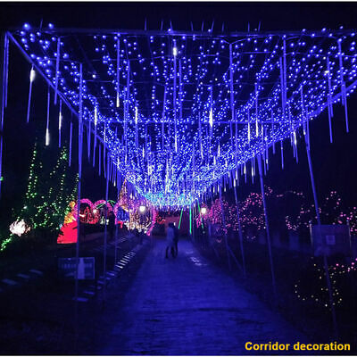 Victorian Style Halloween Decorations (Halloween 30/50cm Raindrop String Light Haunted House Party indoor/outdoor)