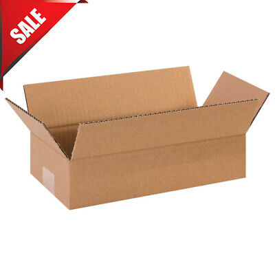 12 X 6 X 3 Long Corrugated Boxes 65 Lbs Capacity 200ect-32 Lot Of 25