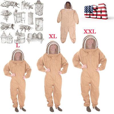 Lxlxxl Beekeeping Beekeeper Veil Bee Suit Dress Jacket Smockhat Protective Us