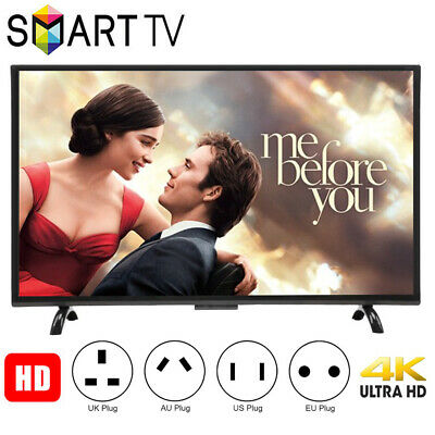 32/43/55 Inch HD Smart TV Curved Screen LED HDTV WiFi 3000R 4K HDMI VGA USB
