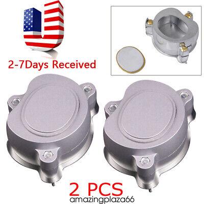 2pcs Dental Aluminium Denture Flask Compressor Parts Dental Lab Equipment Usa