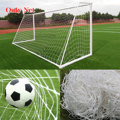 Soccer Post Sporting Goods - PE Football Soccer Goal Post Net Sports Training Practice Outdoor 24X8FT 12X6FT