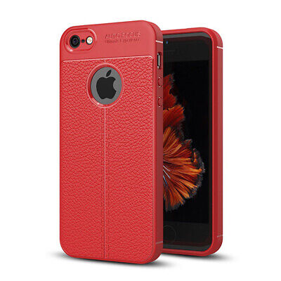 Apple iPhone 5 / 5s / SE Hülle Case Handy Cover Schutz Tasche Schutzhülle Rot (Buch Handy Cover Iphone 5)