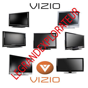 Ultimate  VIZIO  TV  LCD  PLASMA  LED  repair service manuals (PDF on  DVD)