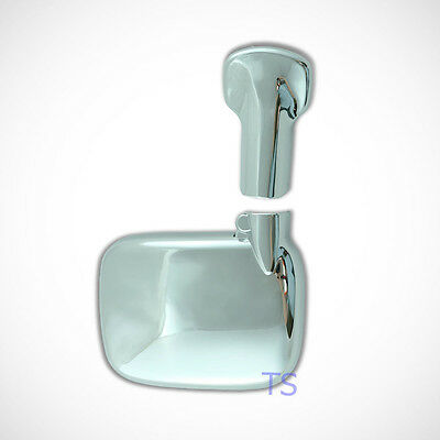 Chrome Back Rear View Mirror Cover For Toyota Hiace Commuter D4d Van 2005 2015