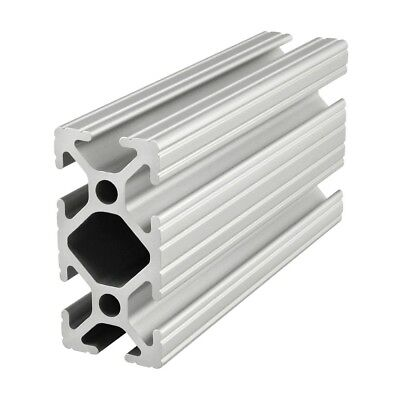 "80//20 Inc 1/"" x 1/"" Aluminum Quick Frame Square Tube Profile # 9000 x 72/"" N"