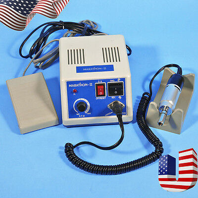 Dental Lab Marathon Electric Polisher 35k Rpm Motor Handpiece N3 Sale