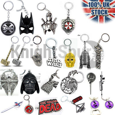 Movie TV Key Rings Bottle Openers Necklaces Pendant Bracelets Chrismtas Gifts